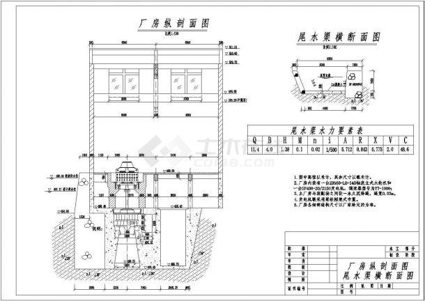 小型水电站CAD设计图家具设计要看的艺术书图片