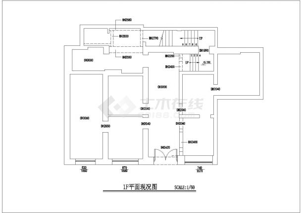某美容装潢设计CAD学院施工图简单设计电子电路的图片