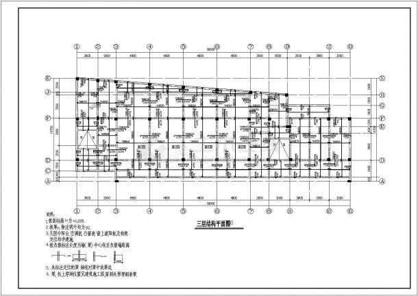 YOKA工作室建筑设计施工图57(平面图、立面平面设计图自由图片