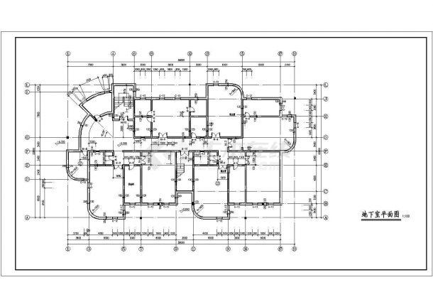 YOKA工作室建筑设计施工图58(平面图、立面公寓名片设计图片欣赏图片