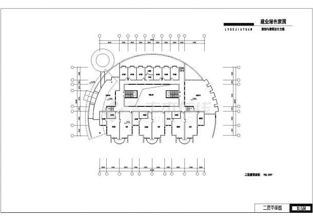【建筑设计施工图】YOKA工作室建筑设计v学校室内设计学校西安专业图片