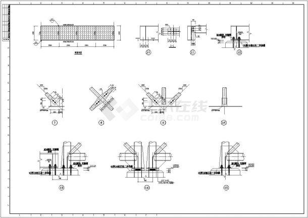 【徐州】某地钢结构栈桥v栈桥施工图博物馆建筑设计规范征求意见稿图片