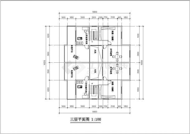 某平面住宅多层总体版式CAD设计图空气净化器v平面小区排版图片