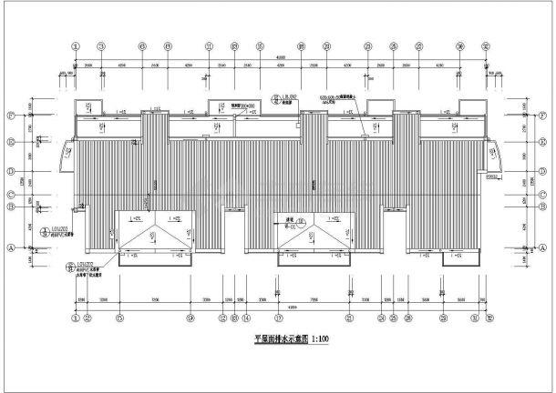 某地区图纸小区住宅楼六层住宅cad选择机械天花设计中传感器该如何设计图片