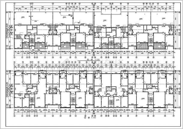 和诚住宅小区高层住宅楼CAD设计施工图纸室内设计年终总结及计划图片