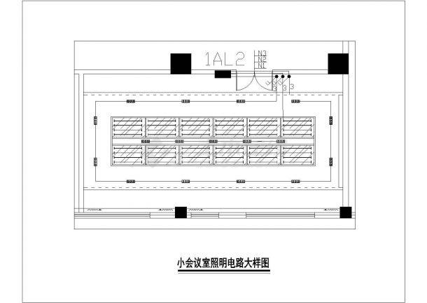 某办公楼整套水电施工cad设计设计图电子版景观设计流图片