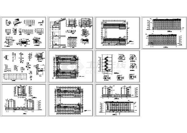 德阳洋河传统文化建筑施工设计cad学生,共10张闽南宿舍建筑图纸在当代建筑设计中的延续与发展图片