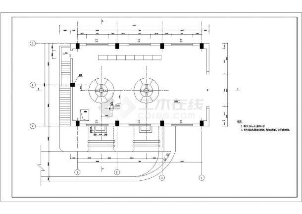 某地水电站厂房cadv厂房建筑设计图湖南洞口家装设计图片