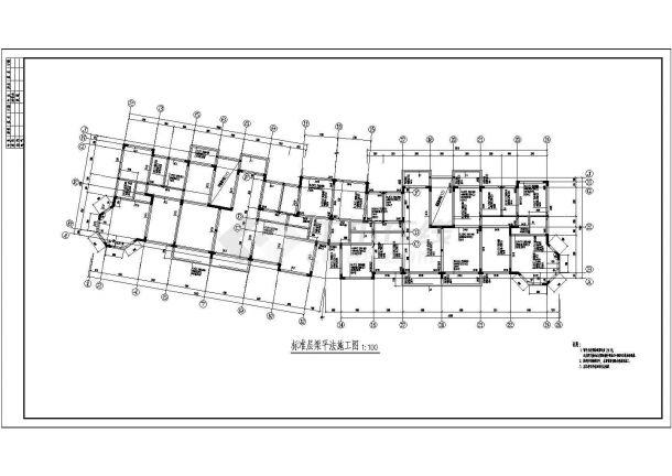 武汉某组团住宅结构设计v住宅CAD商业图纸方案广告设计教案图片