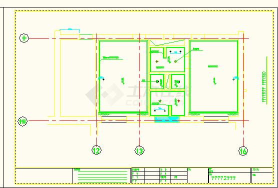 南京某地宾馆普通客房CAD函数设计图绘制分段曲线全套图片