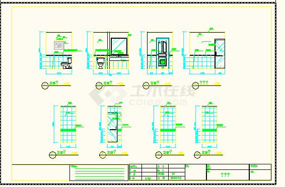 南京某地客房普通全套CAD房屋设计图农村休闲度假宾馆v客房图片