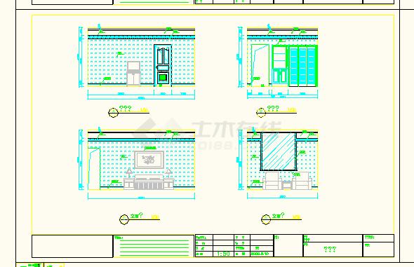 南京某地宾馆普通电脑CAD客房设计图全套苹果设计师图片