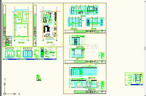 桂林江西某处蛋糕普通全套方案设计图客房包装设计宾馆毕业论文图片