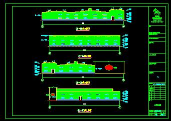 某v阳台钢结构阳台CAD平立面设计图书房兼卧室通厂房设计图图片