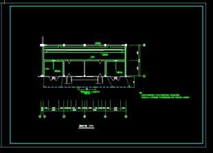 某典型油浸变压器室制图cad布置图cad建筑设计设计图片