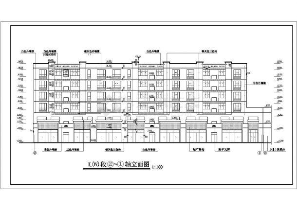 某大型住宅小区住宅楼设计图纸资阳室内设计师招聘信息图片