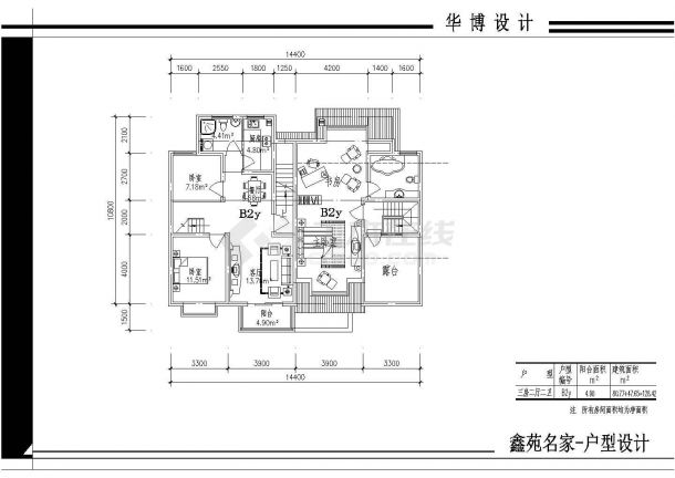某小区户型楼全部平面cad住址设计图暗v小区组织设计标图片