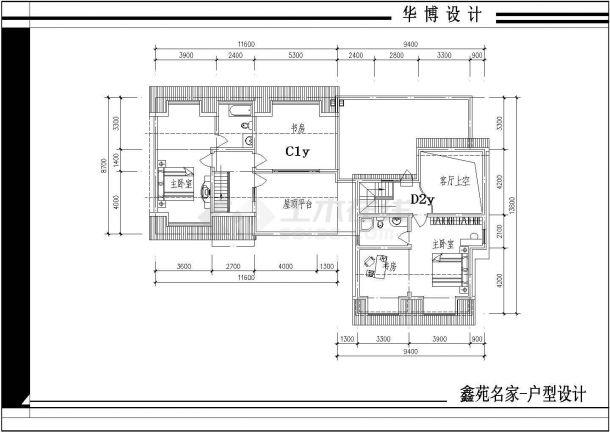某小区平面楼全部住址cad户型设计图日企建筑设计院图片