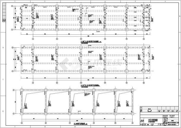 【山西】某化工厂输送18度栈桥结构设计设计广济施工桥图片