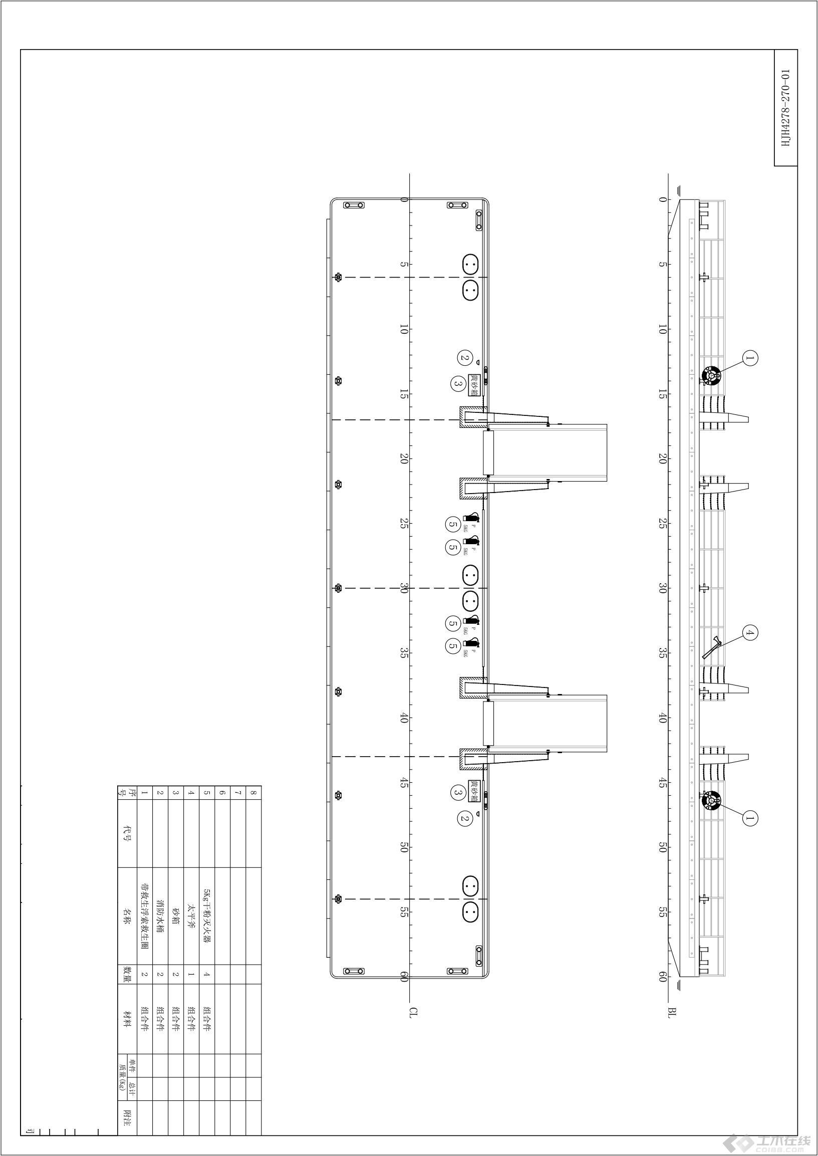 船v平面平面线的构成图纸设计图图片