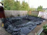 夏日炎炎,农村自建房庭院如何自己动手做游泳池?_图3