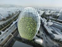 BIM技术在南港办公大楼案曲面帷幕建筑施工整合中的应用