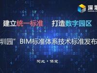 数字园区建设启动!保定深圳园发布BIM标准体系技术标准