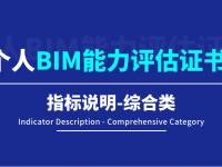 【BIM评估认证】个人BIM能力评估指标说明-综合类