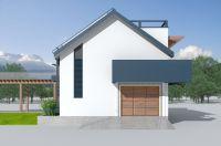 农村二层自建房别墅设计,屋顶光伏发电,狮子座建房设计