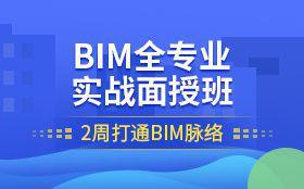 BIM技术全专业实战面授班