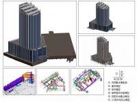 湖南省常德市希尔顿五星级酒店项目BIM应用