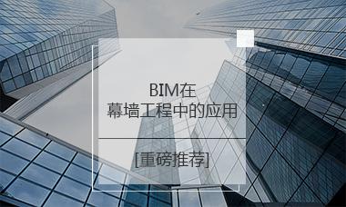 BIM在幕墙工程中的应用