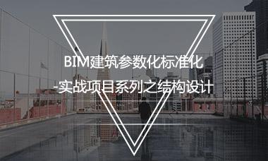 BIM建筑参数化标准化-实战项目系列之结构设计