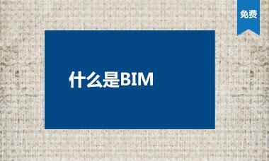什么是BIM
