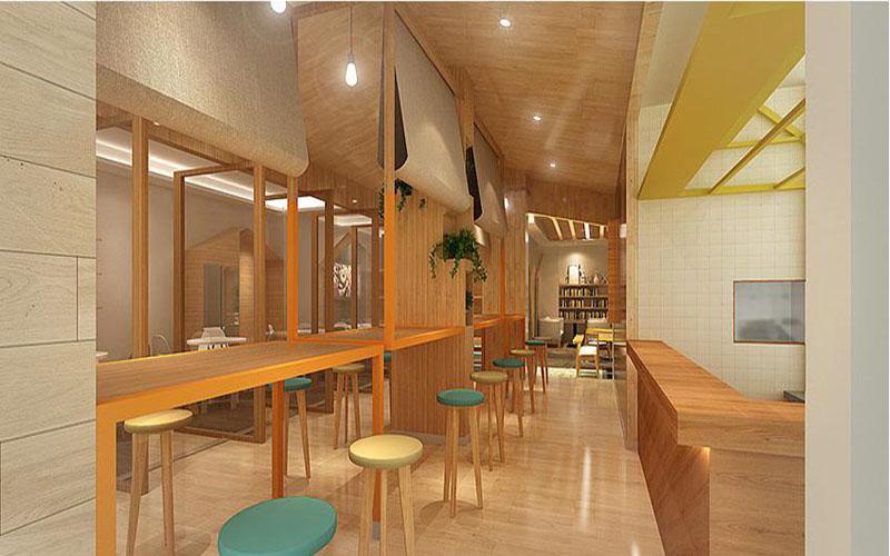 酒店主题餐厅阴角线设计方案