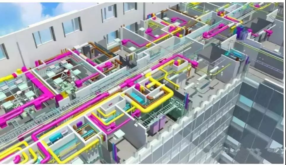 BIM建筑、排水、机电管线综合排布避让原则及出图规范