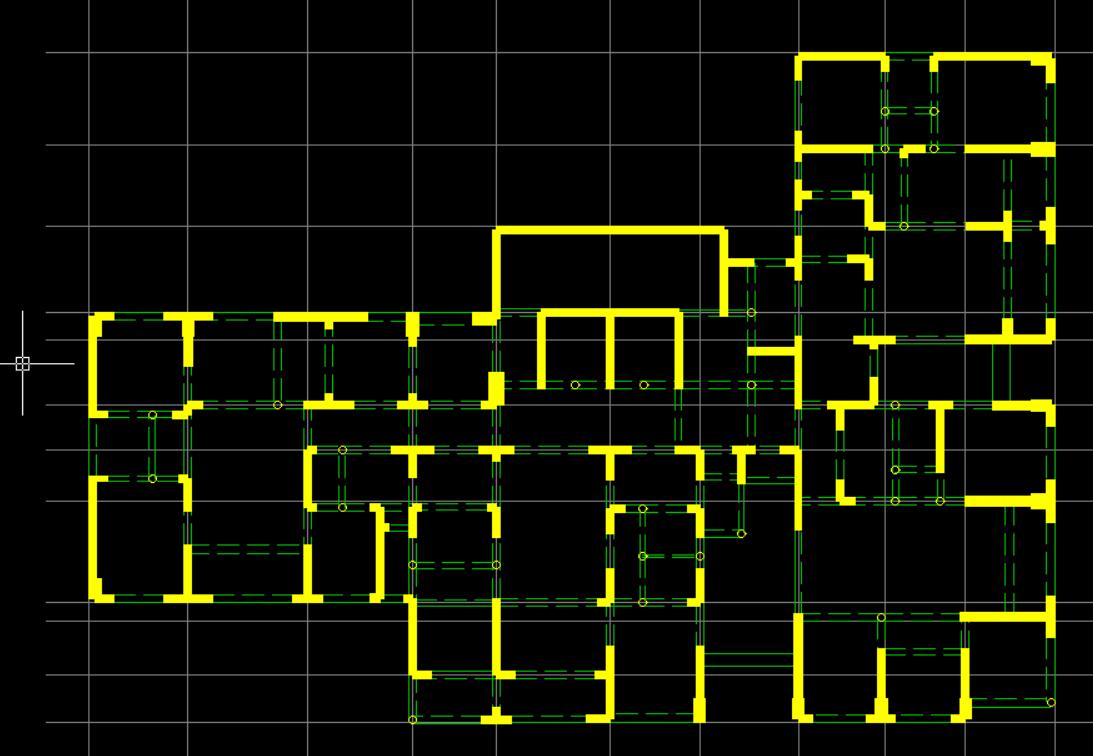 这种剪力墙布置位移比达到了1.5,请问有知道该怎么修改得吗?