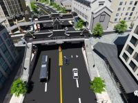 大方县奢香大道与书院街交叉人行过街天桥工程项目BIM技术应用