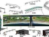 湖南省耒阳市鹿岐峰片区沿江风光带工程BIM技术应用