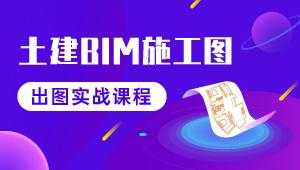 土建BIM施工图出图实战课程