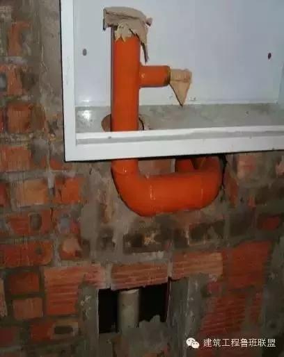 建筑给水、排水、消防施工工艺流程解读