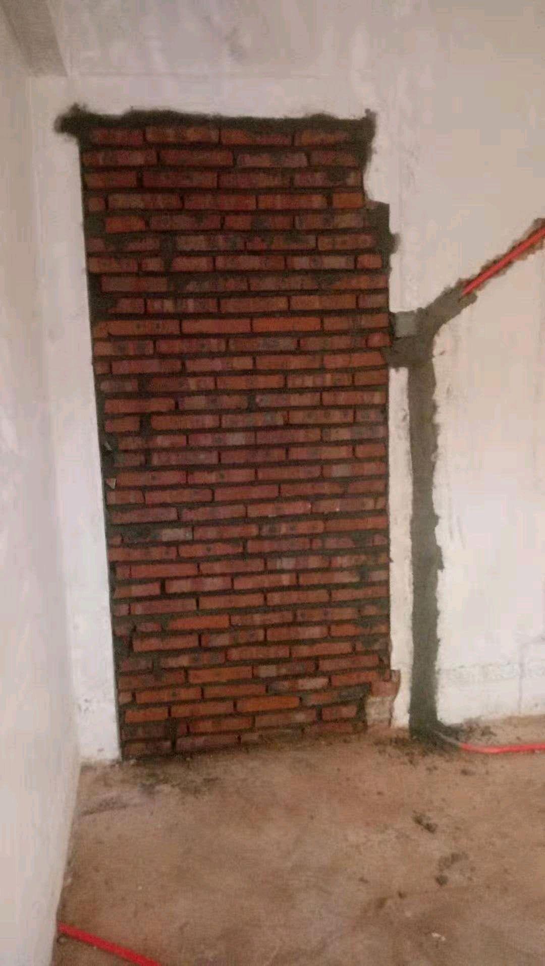 实心砖隔墙自重问题