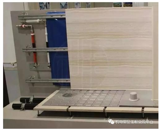 内装解析同层排水的 3 种形式:降板式不降板式隐蔽式