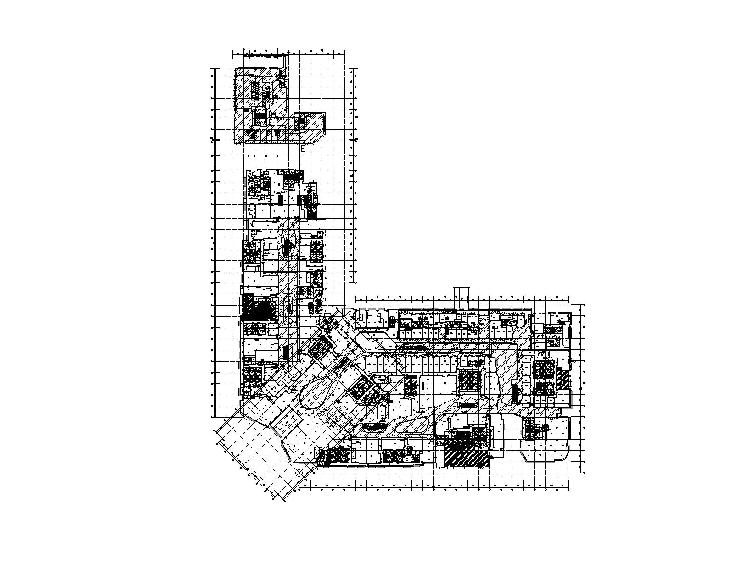 知名大型购物中心电气施工图(强弱电消防)