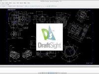达索系统不仅有三维工具,还有DraftSight二维CAD设计工具