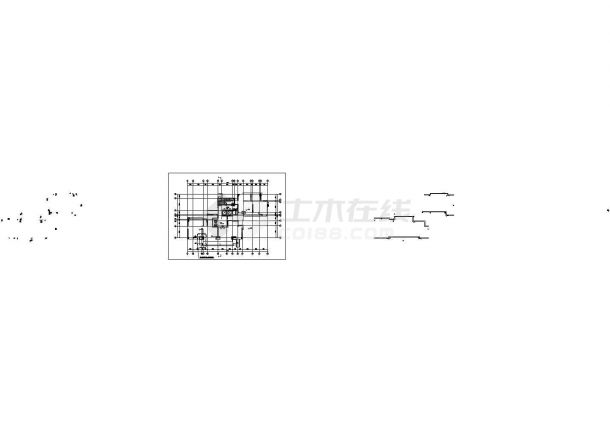 成都市新亚洲花园小区11层框架结构住宅楼全套平面设计CAD图纸-图一