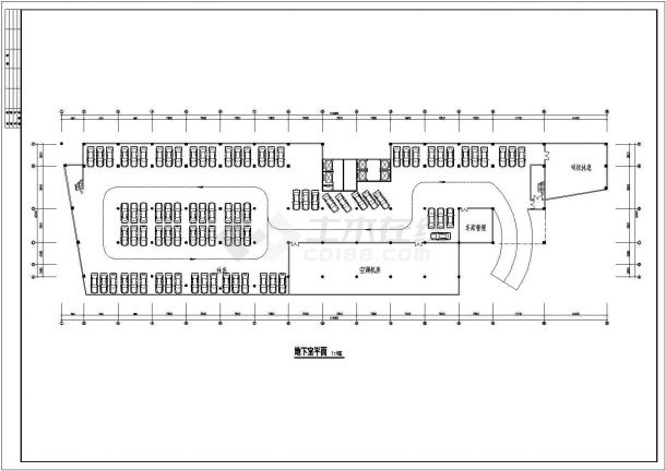 甘肃酒店平立面方案设计全套施工cad图-图一