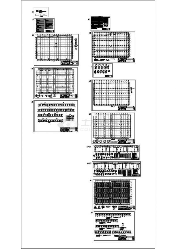 单层厂房钢结构计算书(附全套CAD图纸+计算书+报价)-图一