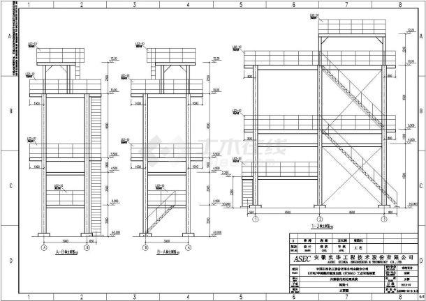 三亚钢构架焊接结构底商私人住宅楼设计CAD详细建筑施工图-图一