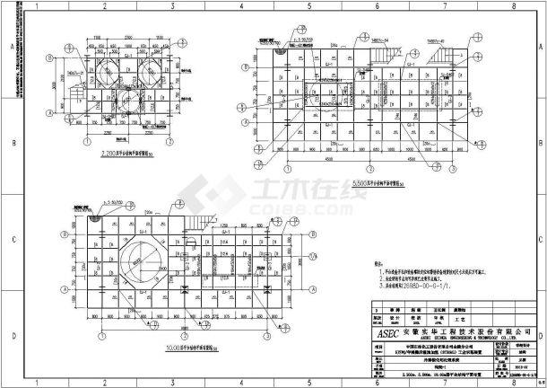 三亚钢构架焊接结构底商私人住宅楼设计CAD详细建筑施工图-图二